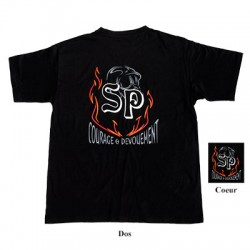 Tee-shirt SP + F1 + Flammes
