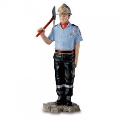 Sapeur pompier tenue défilé