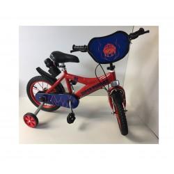 Vélo enfant rouge 14 pouces