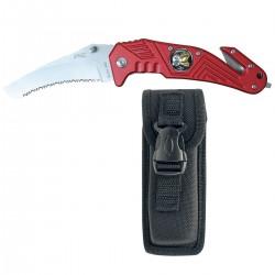 Couteau rouge pompier
