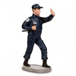 Résine Policier avec tonfa