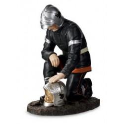 Sapeur Pompier recueillement