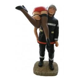 Sapeur Pompier sauvant...