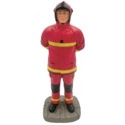 Sapeur Pompier uniforme rouge