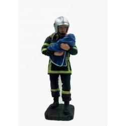 Sapeur pompier femme...