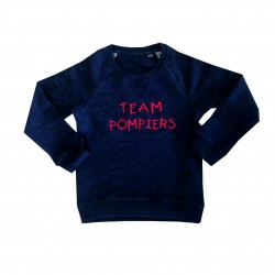 "Sweat enfant ""team pompiers"""
