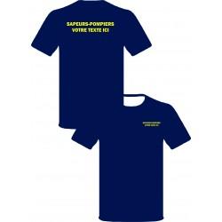 Tee-shirt marine serig...