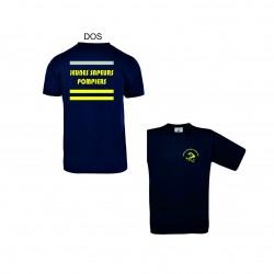 Tee-shirt marine JSP jaunes...