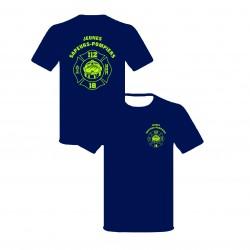 Tee-shirt marine JSP blason...
