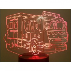 Lampe LED camion sapeurs...