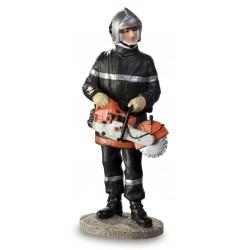 Sapeur Pompier avec Scie...