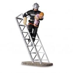 Sapeur pompier avec enfant...