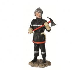 Sapeur pompier avec hâche